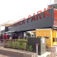 Photo taken at Downtown Container Park by Kevin ⚡. on 5/18/2014