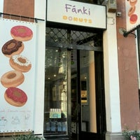 Photo taken at Fánki Donuts by Edina Nóra W. on 8/1/2015