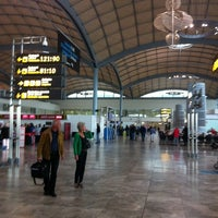 Photo taken at Alicante-Elche Airport (ALC) by Miguel S. on 11/8/2012