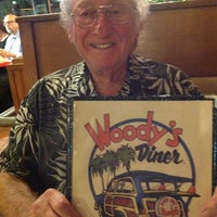 Photo taken at Woody's Diner by Christina M. on 2/23/2013