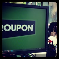 Photo taken at Groupon España by Nuria O. on 11/26/2012