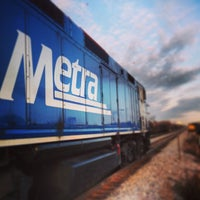 Photo taken at Metra - Roselle by H. Michael M. on 3/29/2013