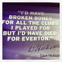 Photo taken at Everton Two Official Club Store by Peter F. on 5/27/2013