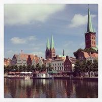 Photo taken at Liebesbrücke by Michael G. on 7/16/2013