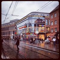 Photo taken at Marienplatz by Michael G. on 12/19/2013