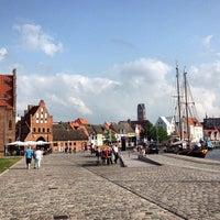 Photo taken at Hafen Wismar by Michael G. on 7/5/2013