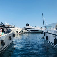 Photo taken at Cannes International Boat & Yacht Show by Ronan P. on 9/13/2018