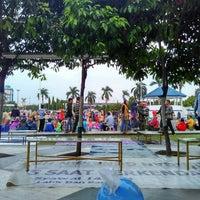 Photo taken at Alun Alun Tegal by Amalia F. on 7/2/2016