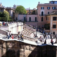 4/17/2013にSvetlana S.がScalinata di Trinità dei Montiで撮った写真