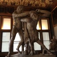 Photo taken at Uffizi Gallery by Anelise P. on 4/1/2013