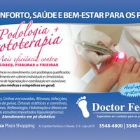 Photo taken at Doctor Feet Mooca Plaza by Bia B. on 4/10/2013