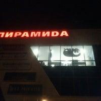 Снимок сделан в ТЦ «Пирамида» пользователем Илья N. 10/15/2012
