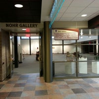 Photo taken at Harry and Laura Nohr Gallery at UW-Platteville by Michael B. on 2/22/2013