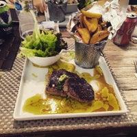 Photo taken at Brasserie Caffè Olé by Filipe T. on 5/9/2017
