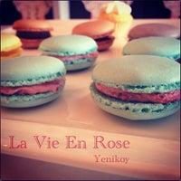 Photo taken at La Vie en Rose by deniz k. on 4/16/2013