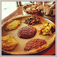 Foto scattata a Lalibela Ethiopian Restaurant da Ethan t. il 7/12/2013