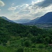 Photo taken at Campanile della Madonnina di Gianico by Matteo Q. on 5/24/2015