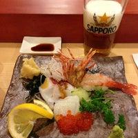 Photo taken at Sushi Yasu by Myhong C. on 10/20/2012