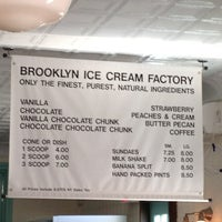 Photo taken at Brooklyn Ice Cream Factory by Myhong C. on 7/6/2013