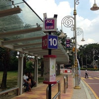 Photo taken at KL Hop On Hop Off Little India (Stop 11a) by Elan D. on 9/25/2013