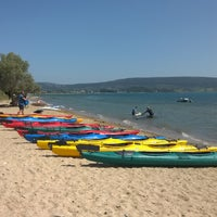 Photo taken at Erodios Camping by Aggeliki T. on 9/5/2015