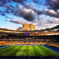 Photo taken at Olimpiyskiy Stadium by Oleksii B. on 6/30/2013