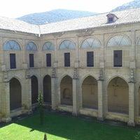 Photo taken at Monasterio De Yuso by Ester S. on 5/5/2013