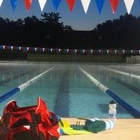 Photo taken at Tuhey Pool by Linda M. on 6/4/2013