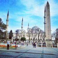 Photo taken at The Obelisk of Theodosius I by Onur A. on 3/31/2013