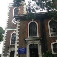 Photo taken at St Mary's Rotherhithe by Kityaporn C. on 7/13/2014