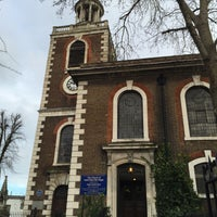 Photo taken at St Mary's Rotherhithe by Kityaporn C. on 1/10/2016