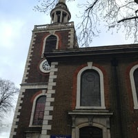 Photo taken at St Mary's Rotherhithe by Kityaporn C. on 1/19/2014