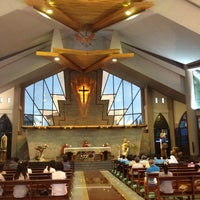 Photo taken at St.Theresa Church by Kityaporn C. on 6/7/2014