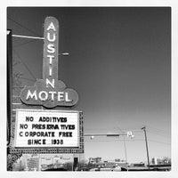 Photo taken at Austin Motel by Daragh W. on 3/14/2013