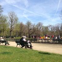 Photo taken at Jardin du Ranelagh by François on 4/14/2013