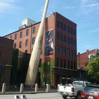Photo taken at Louisville Slugger Museum & Factory by John H. on 8/20/2013