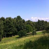 Снимок сделан в Парк Куопио (Финский парк) пользователем Александр М. 7/26/2013