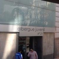 Photo taken at Albergue Juvenil Municipal de Madrid by Sarbelio H. on 11/12/2012