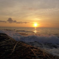 Photo taken at Tanah Lot Beach by 'Sue' S. on 2/5/2013