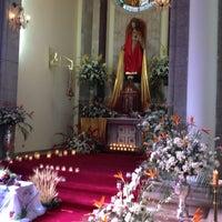 Photo taken at Iglesia Santa Eduvigis by Vincent G. on 3/29/2013