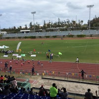 Photo taken at Bermuda National Sports Centre by Shari-Lynn P. on 2/27/2016