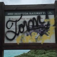 Photo taken at Bermuda Railway Trail by Shari-Lynn P. on 1/16/2016