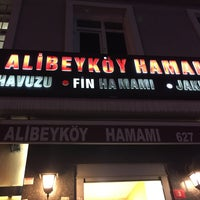 Das Foto wurde bei Alibeykoy Hamamı von Emre A. am 10/21/2016 aufgenommen