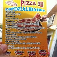 Photo taken at Pizza 3-D by Emmanuel D. on 5/18/2014