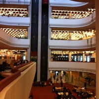 Photo taken at Toronto Public Library (Parliament Branch) by Betul S. on 10/15/2012