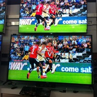 Photo taken at Sony Store by Gus B. on 10/2/2014