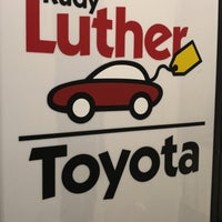 ... Photo Taken At Rudy Luther Toyota By Steve M. On 6/21/2018 ...