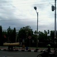 Photo taken at Usman Janatin City Park by DananS a. on 12/24/2013