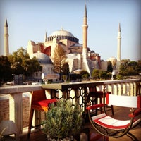 Photo taken at Four Seasons Hotel Istanbul at Sultanahmet by Seb on 10/2/2012