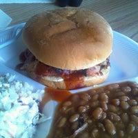 Photo taken at Poppas BBQ by Nick K. on 9/10/2013